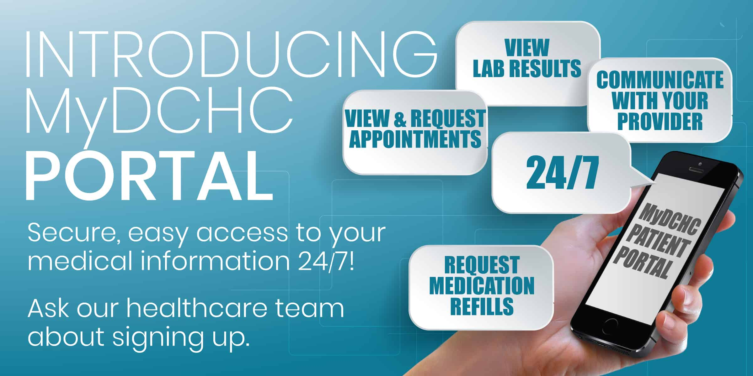 MyDCHC Portal